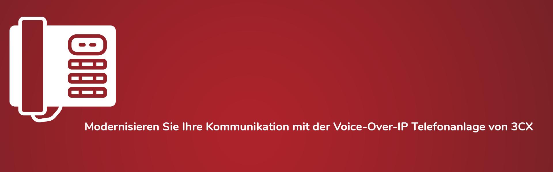 3CX Voice-Over-IP Telefonanlage